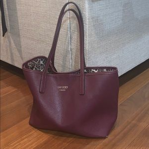 Guess Tote with attachable mini clutch